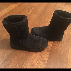 UGG Classic Black boots women's size 7